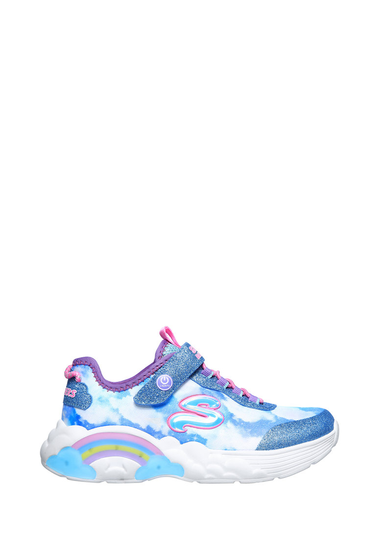 Pantofi sport cu lumini LED Rainbow Racer imagine