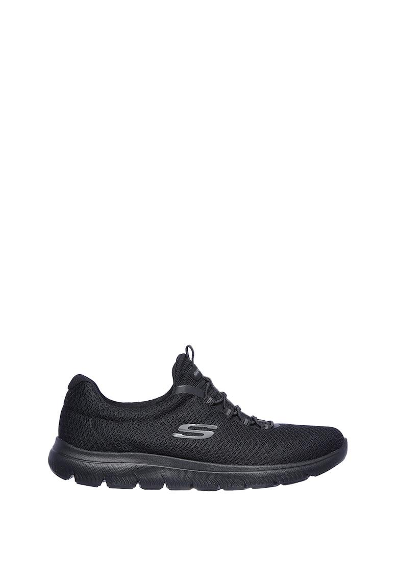 Pantofi sport slip-on de plasa Summits imagine