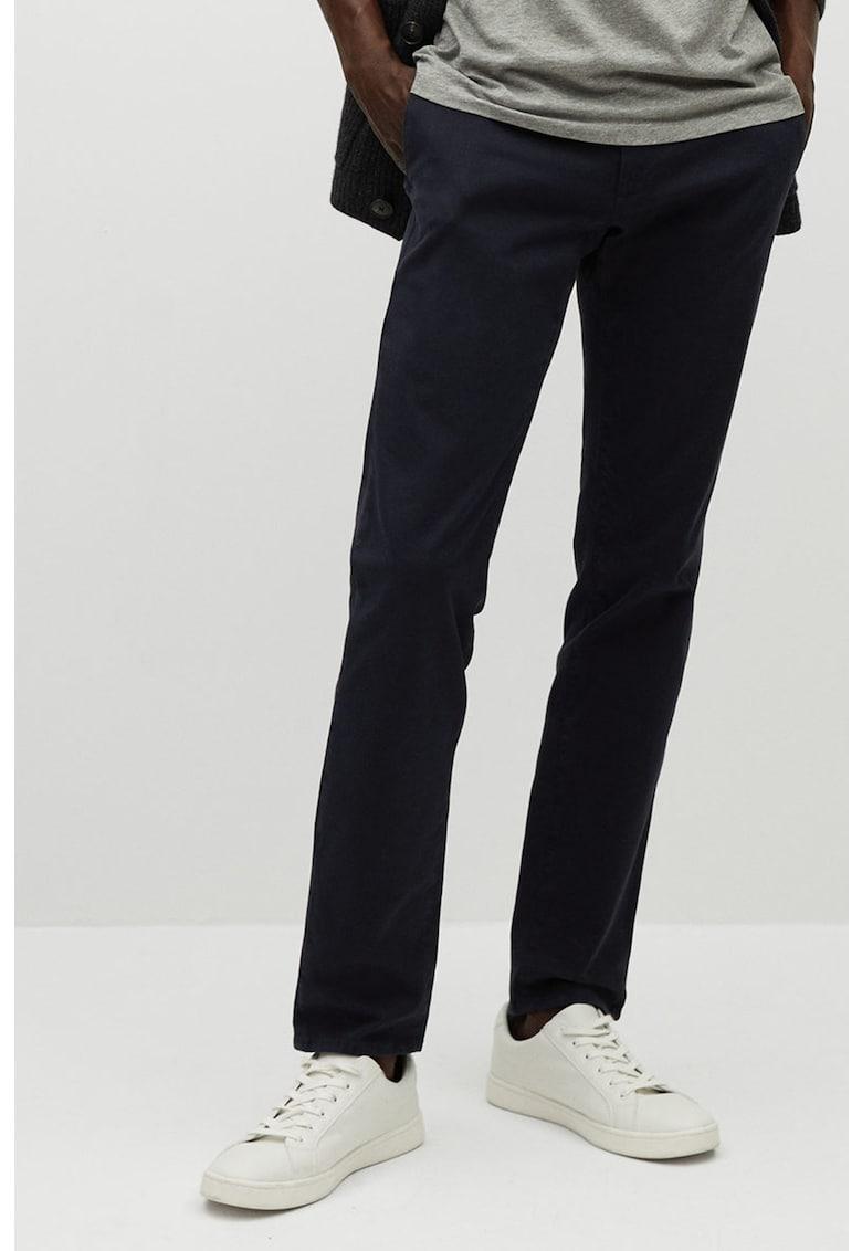 Pantaloni chino slim fit Barna fashiondays.ro