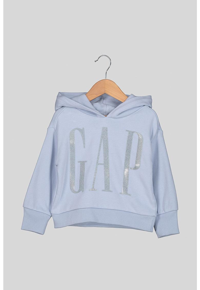 Hanorac cu imprimeu logo supradimensionat GAP fashiondays.ro