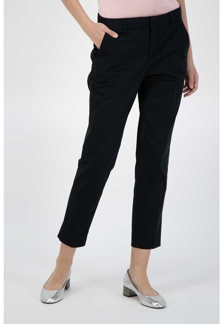 Pantaloni crop chino imagine fashiondays.ro