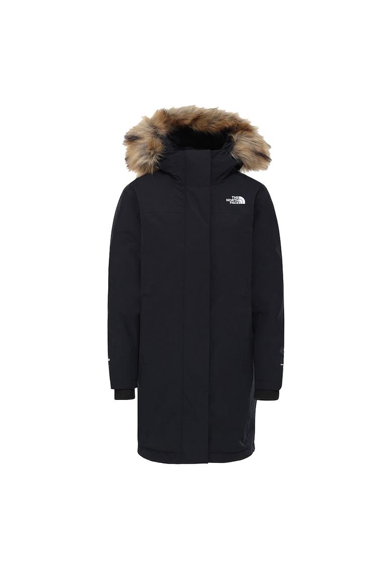 Jacheta cu umplutura de puf si logo Arctic