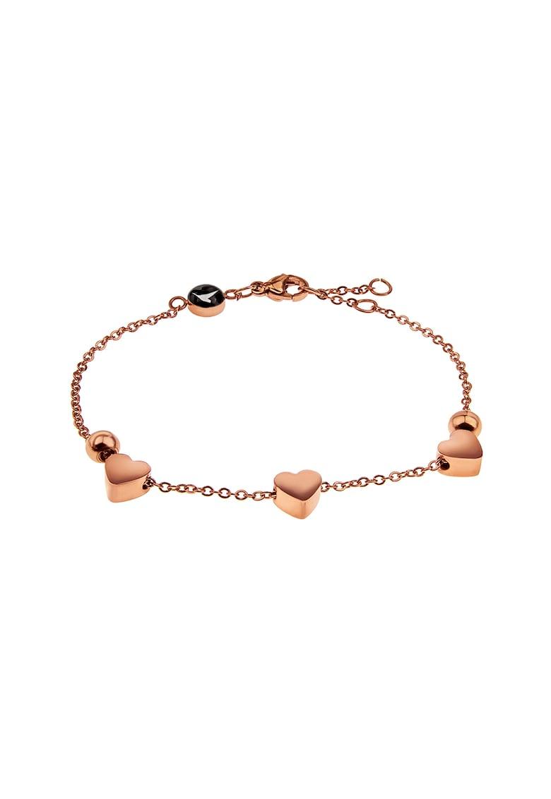 Bratara cu talismane in forma de inima Emily-Westwood imagine 2021