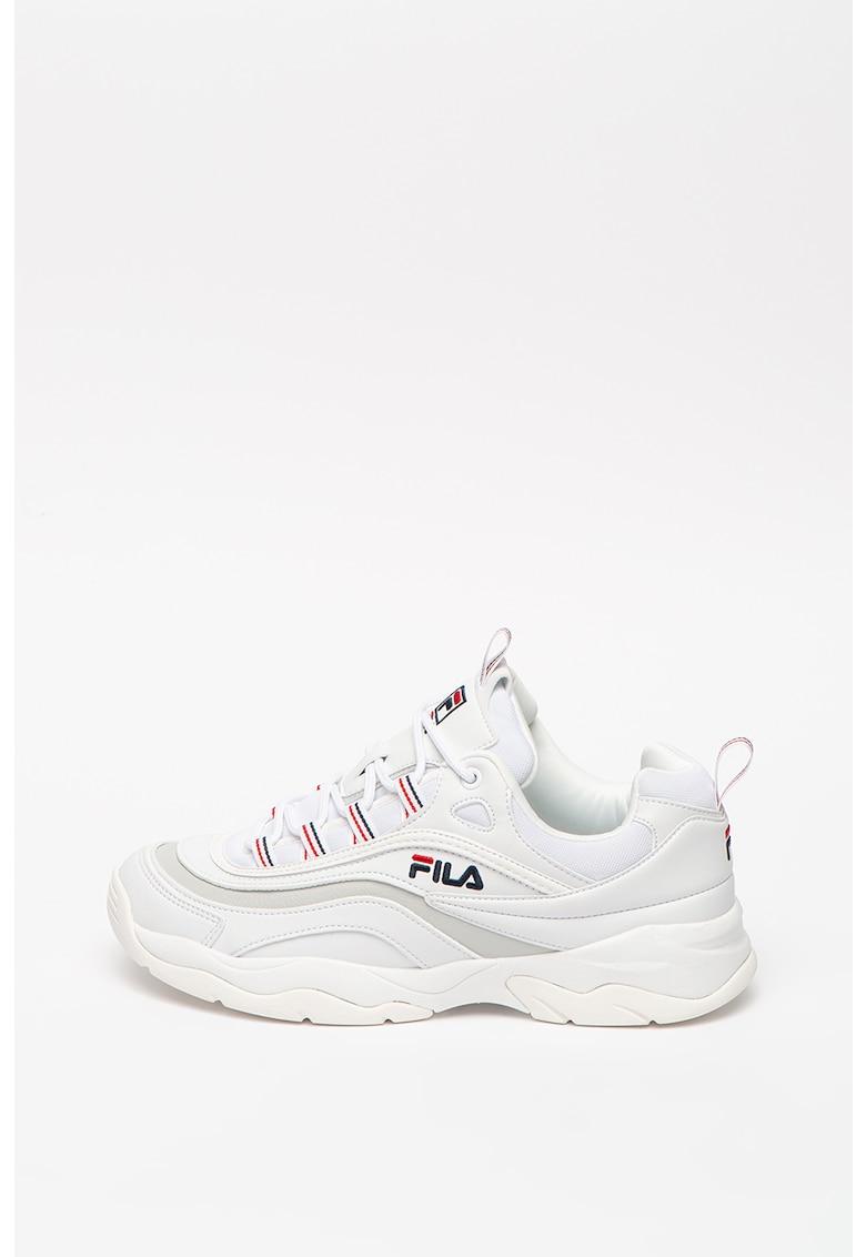 Pantofi sport cu insertii de material textil Ray