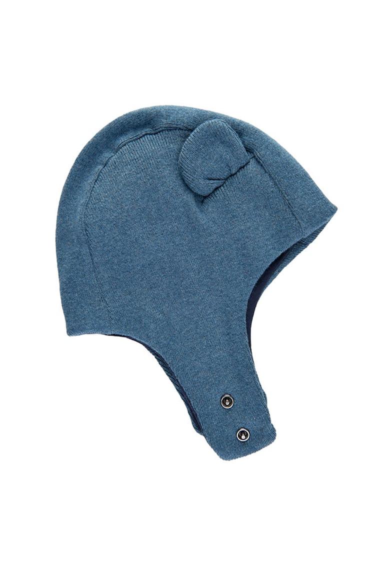 Caciula din amestec de lana - cu model cu urechi poza fashiondays