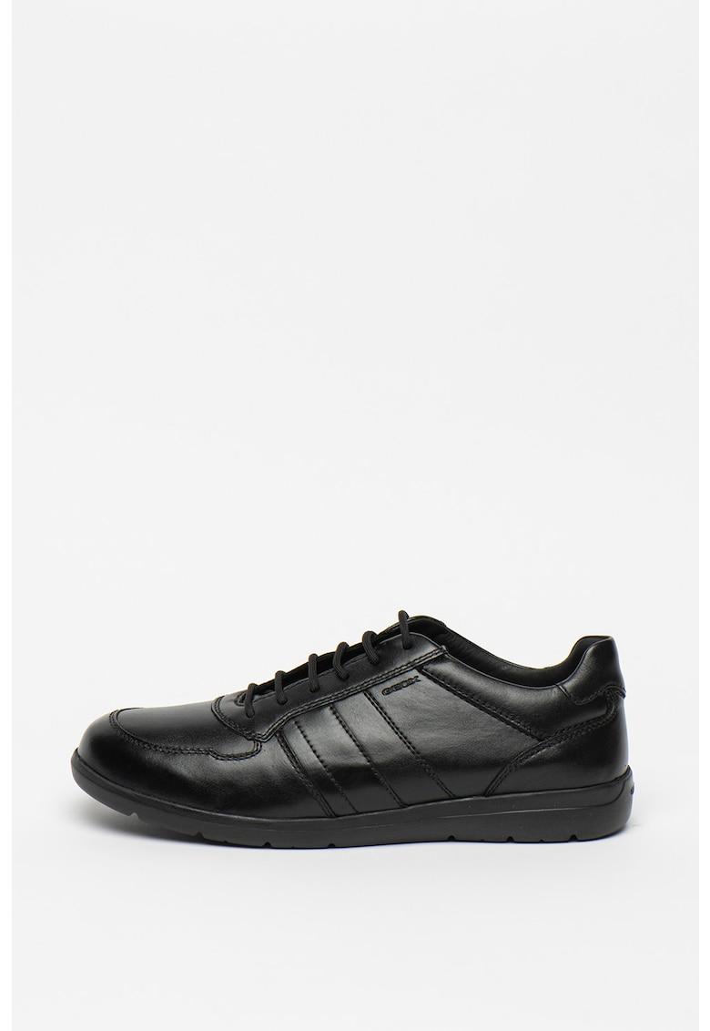 Pantofi casual de piele si piele ecologica Leitan