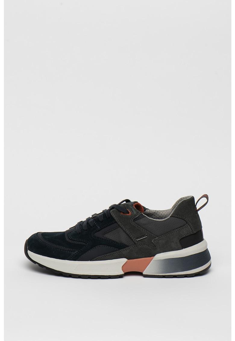 Pantofi sport de piele intoarsa Naviglio