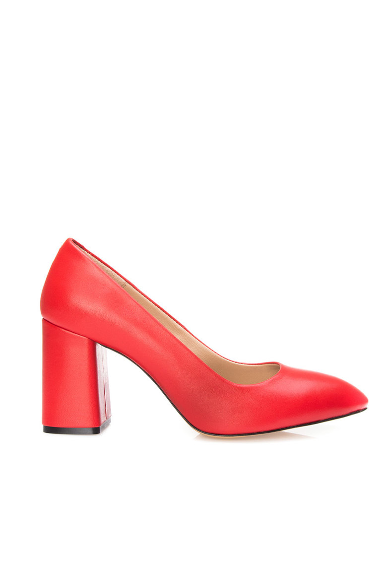 Pantofi din piele cu varf ascutit Janeth