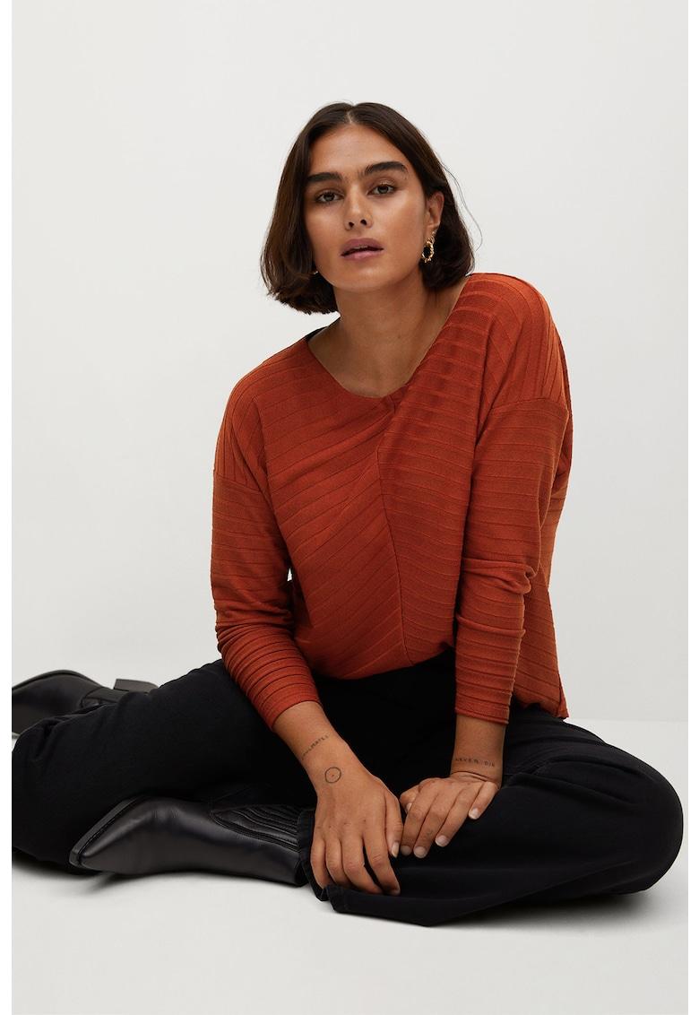 Pulover tricotat fin Espiga de la VIOLETA BY MANGO