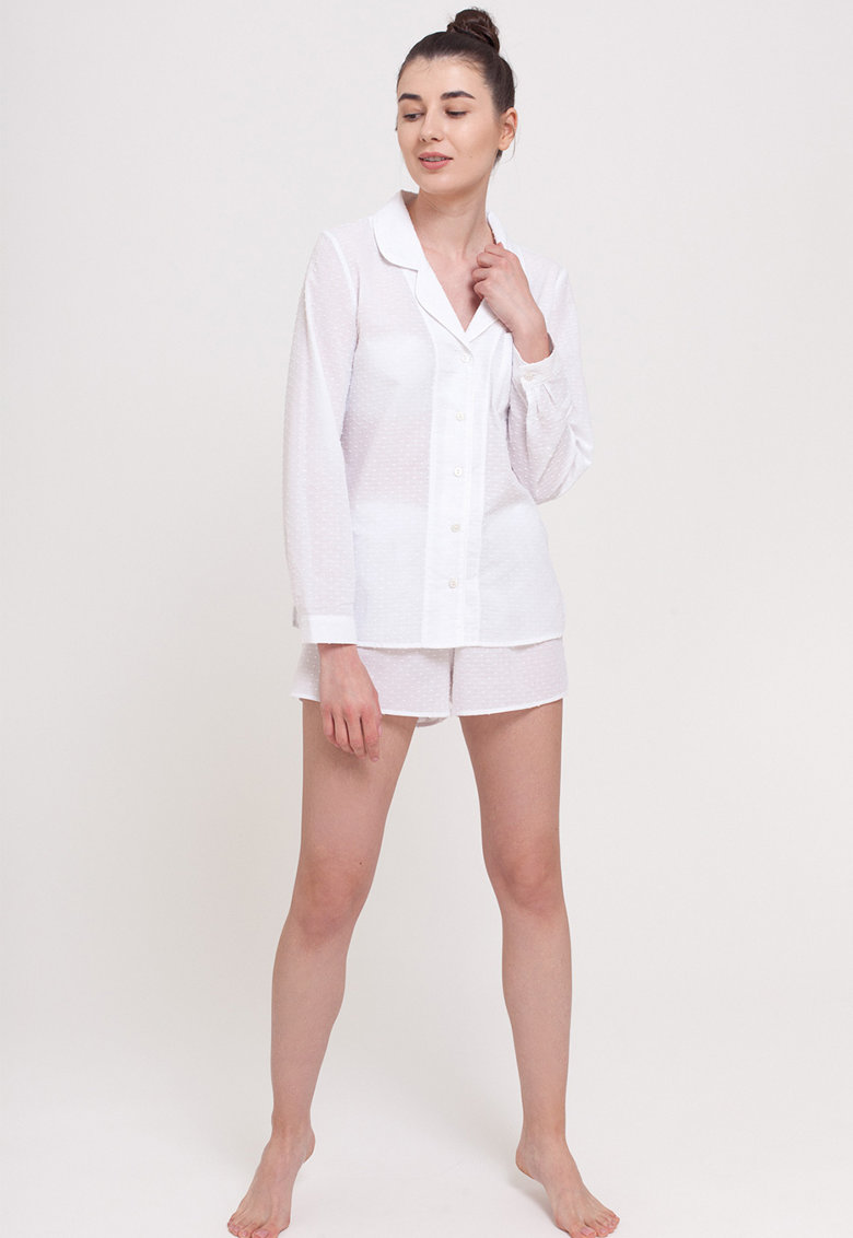 Pijama cu aspect texturat