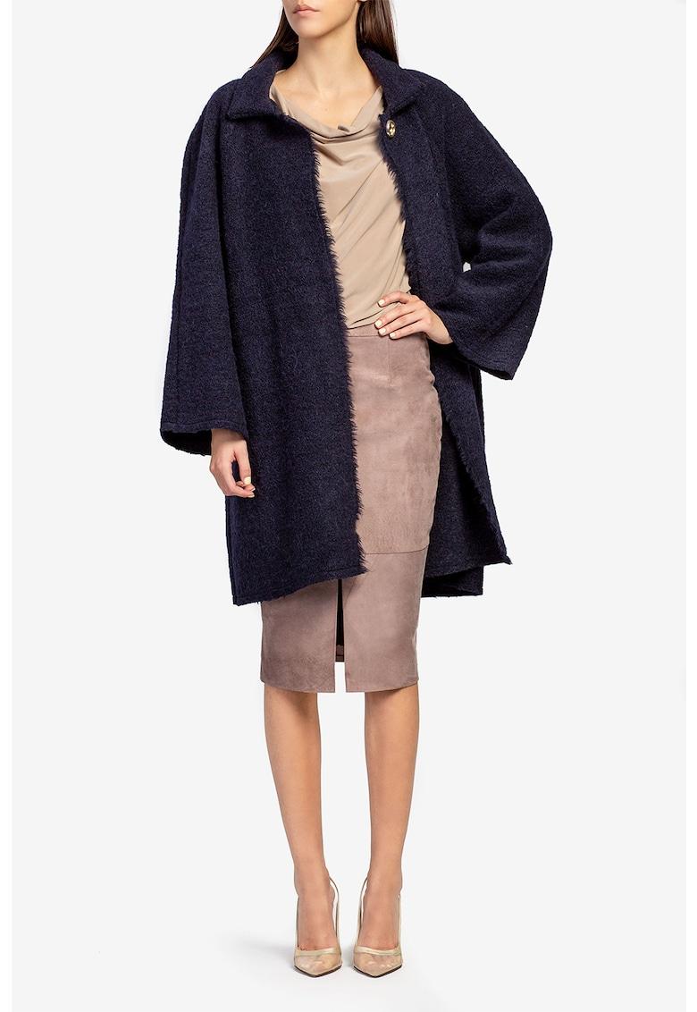 Cardigan supradimensionat de lana de la Acob a porter