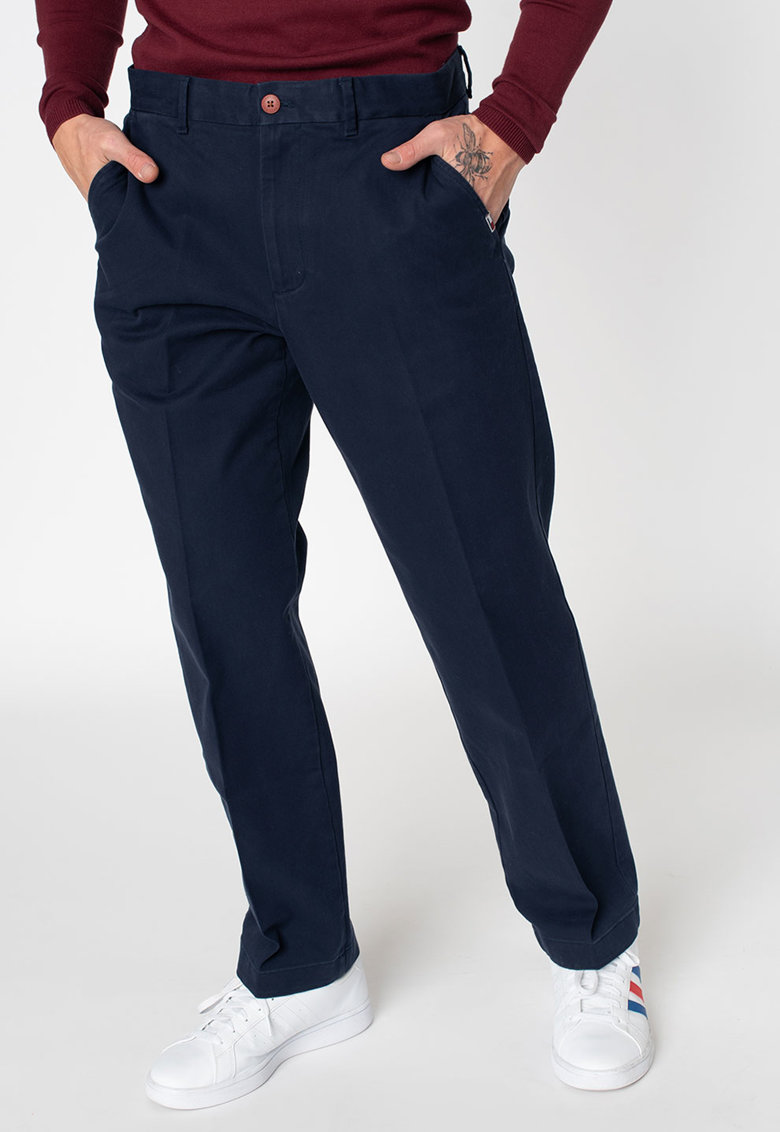 Pantaloni chino relaxed fit imagine fashiondays.ro