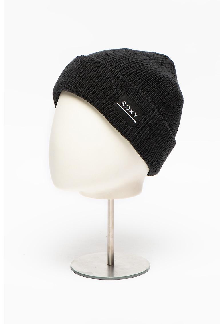 Caciula tricotata elastica cu logo poza fashiondays