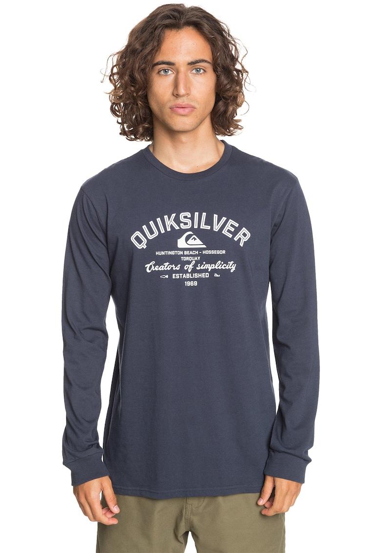 Bluza din jerseu cu decolteu la baza gatului Creators Of Simplicity imagine