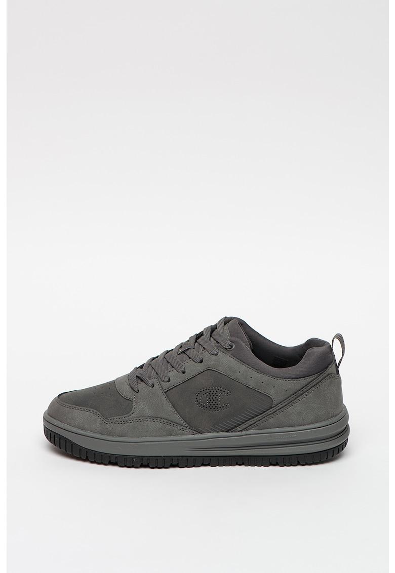 Pantofi sport de piele ecologica - cu perforatii Johnny imagine promotie