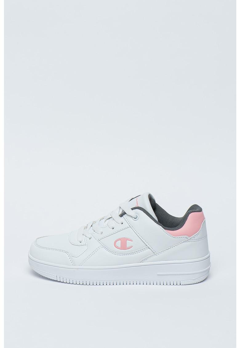Pantofi sport de piele ecologica cu logo Rebound imagine promotie