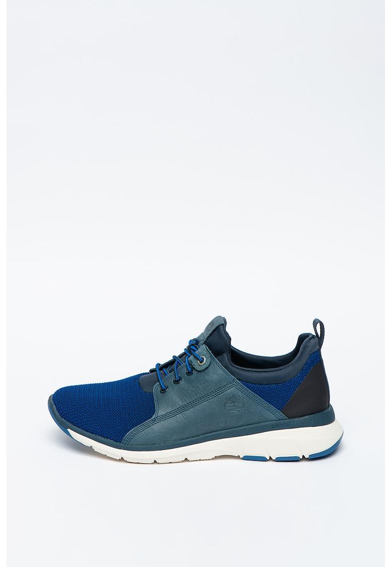 Pantofi sport de piele cu garnituri din material textil Altimeter