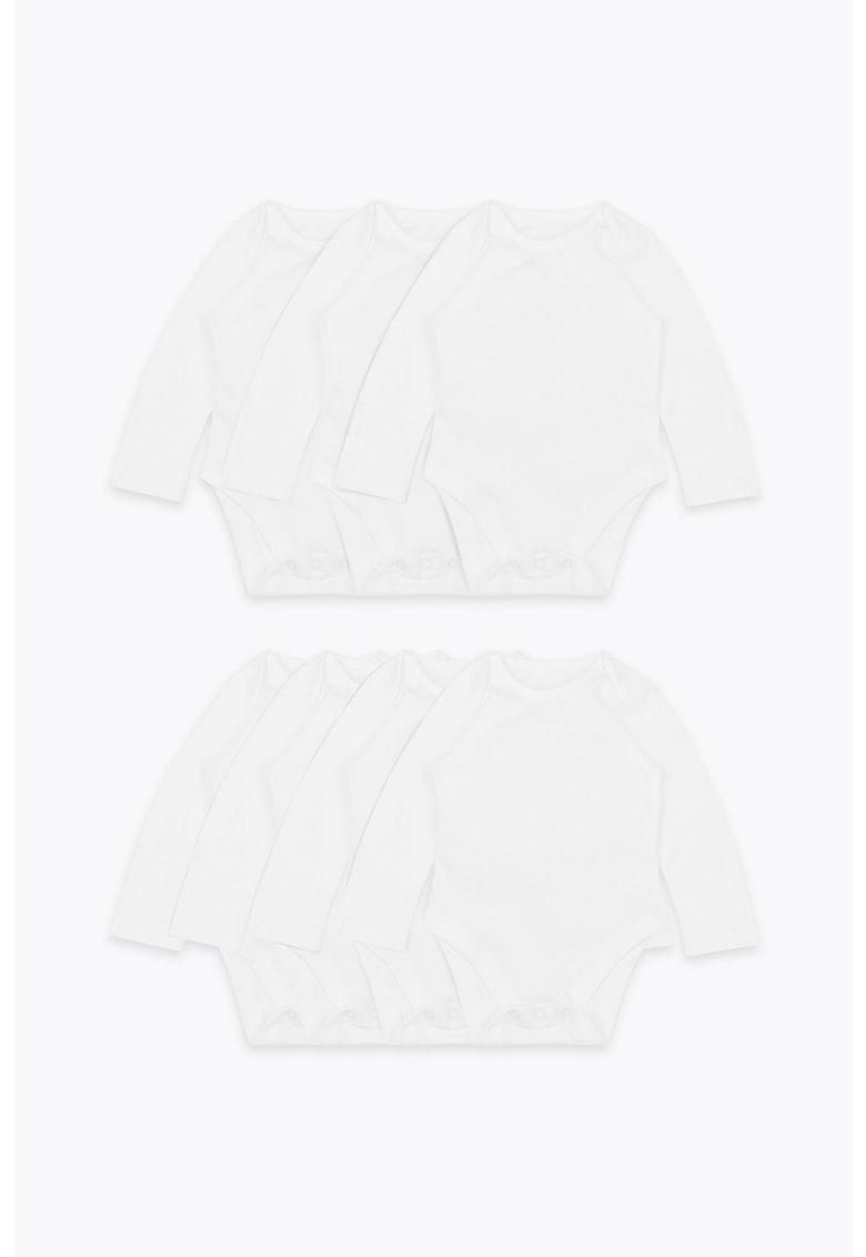 Set de body-uri de bumbac organic - 7 piese imagine fashiondays.ro 2021