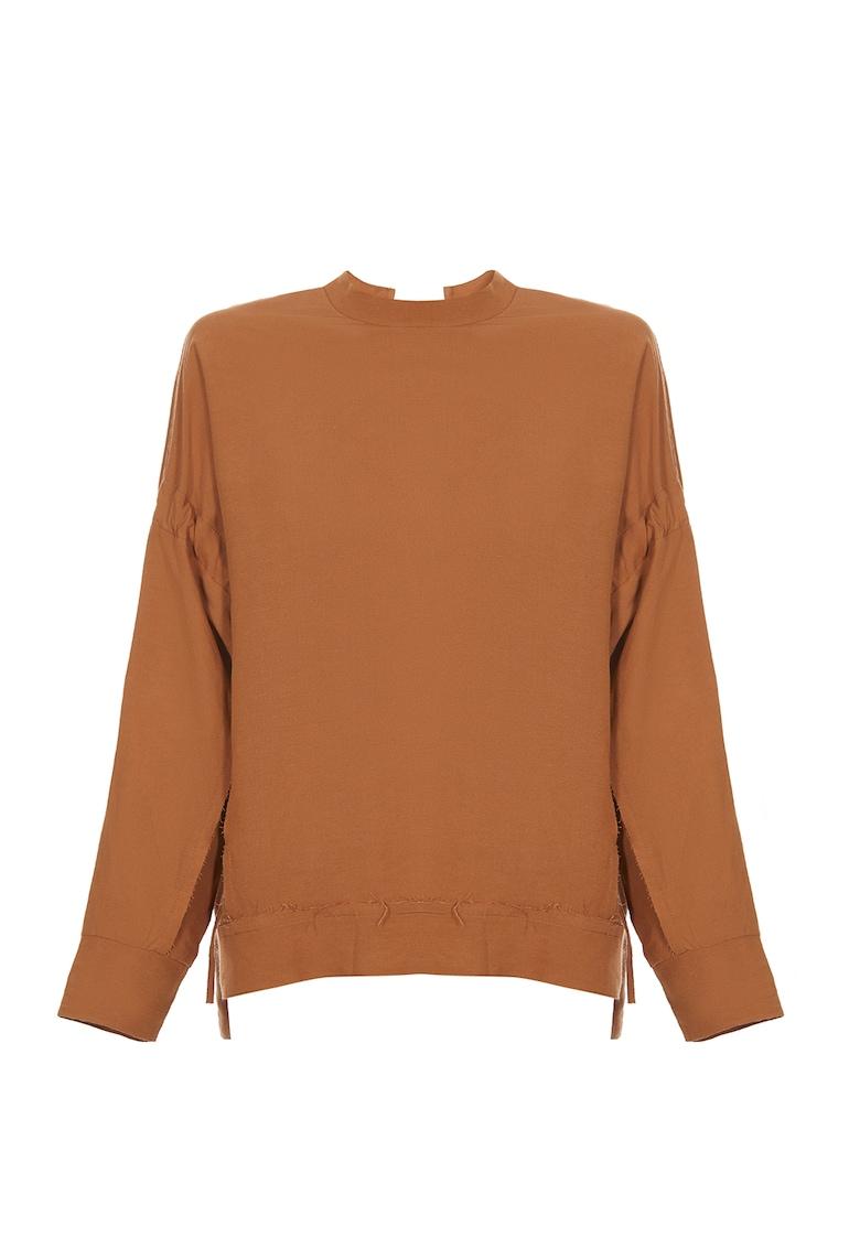 Bluza de in cu maneci cazute imagine fashiondays.ro
