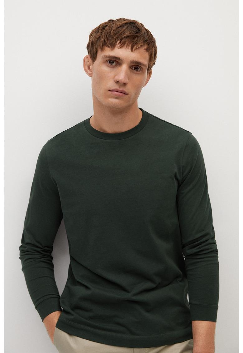 Bluza din amestec de bumbac organic Gareth