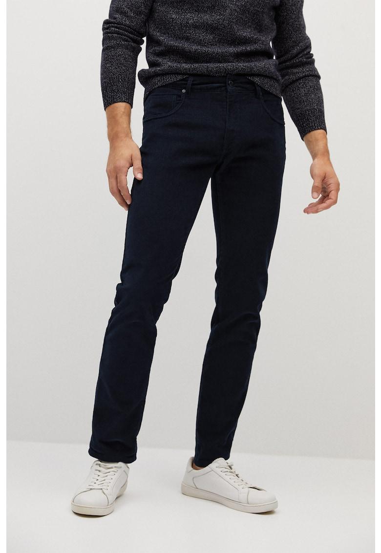 Pantaloni slim fit din reiat Bardem