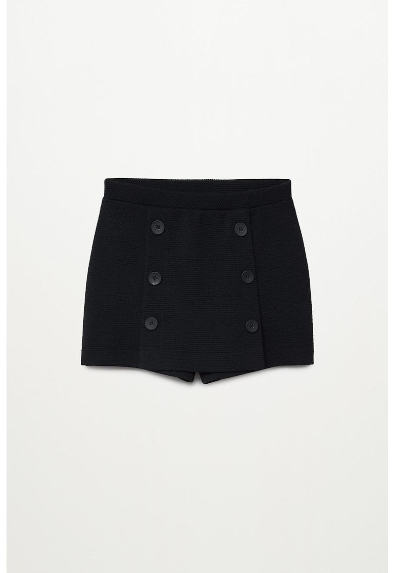 Pantaloni scurti cu nasturi decorativi Bristol imagine