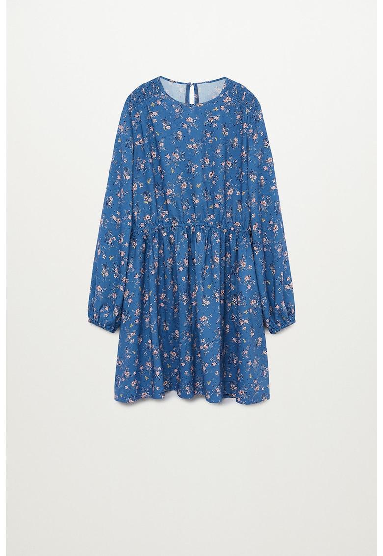 Rochie din viscoza cu imprimeu floral Jardin