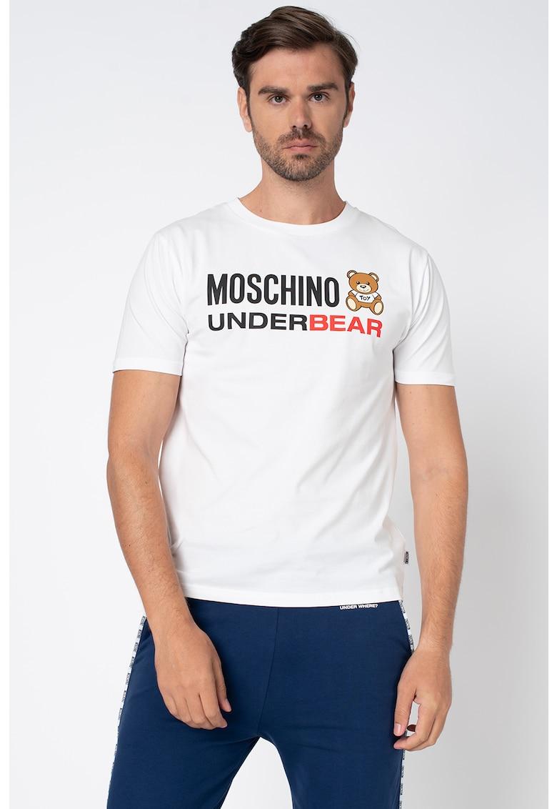 Tricou de casa cu imprimeu logo imagine fashiondays.ro