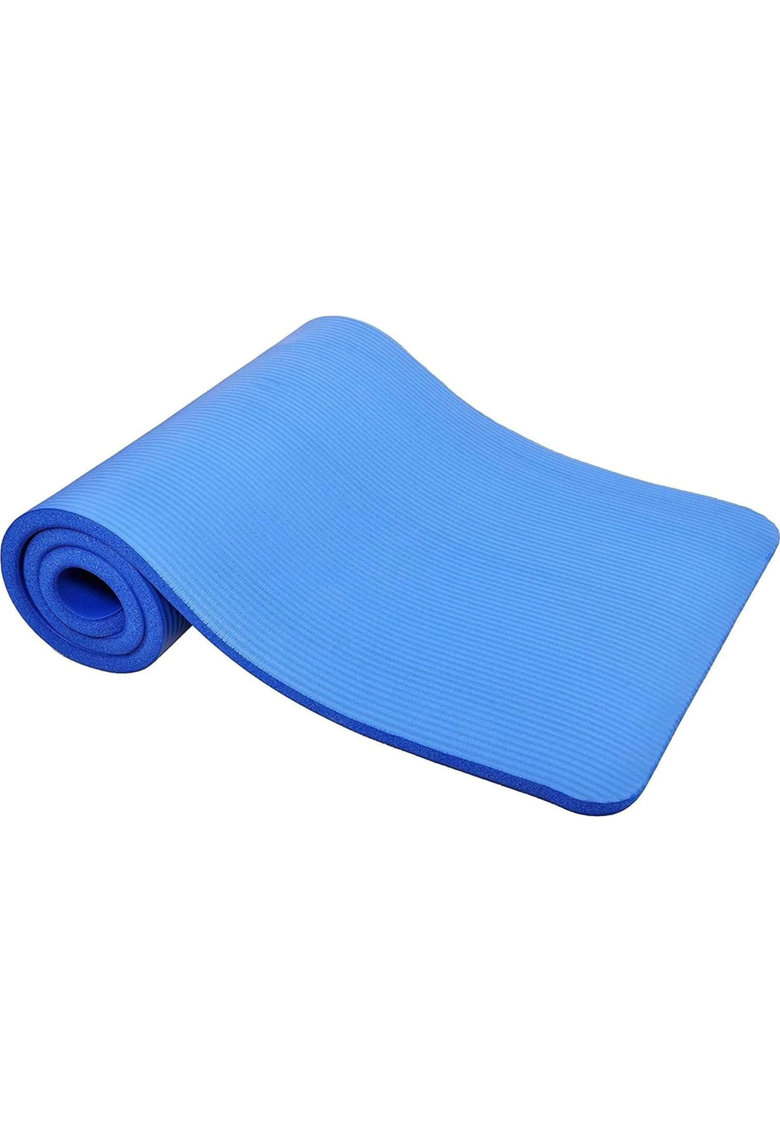 Saltea fitness/yoga/pilates 180x60x1cm - albastru
