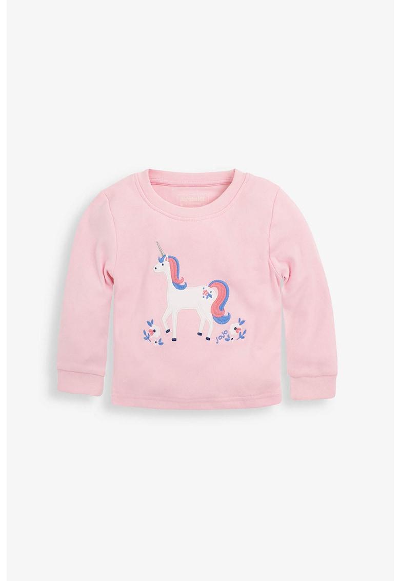 Set de pijamale cu model unicorn - 2 perechi