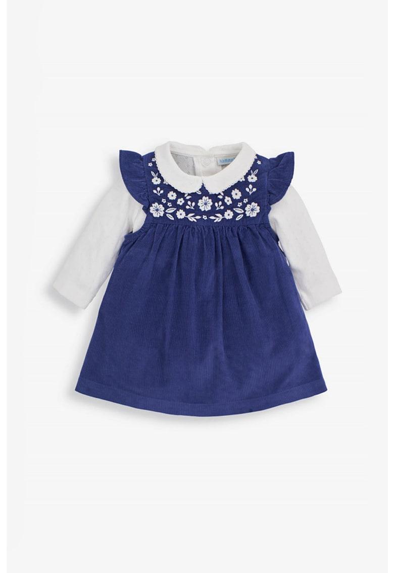 Set de rochie si body din reiat - 2 piese JoJo-Maman-Bebe