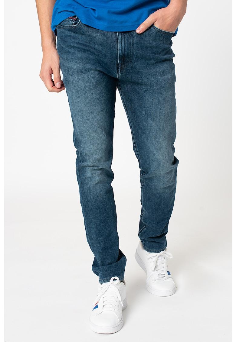 Blugi skinny cu aspect decolorat Simon de la Tommy Jeans