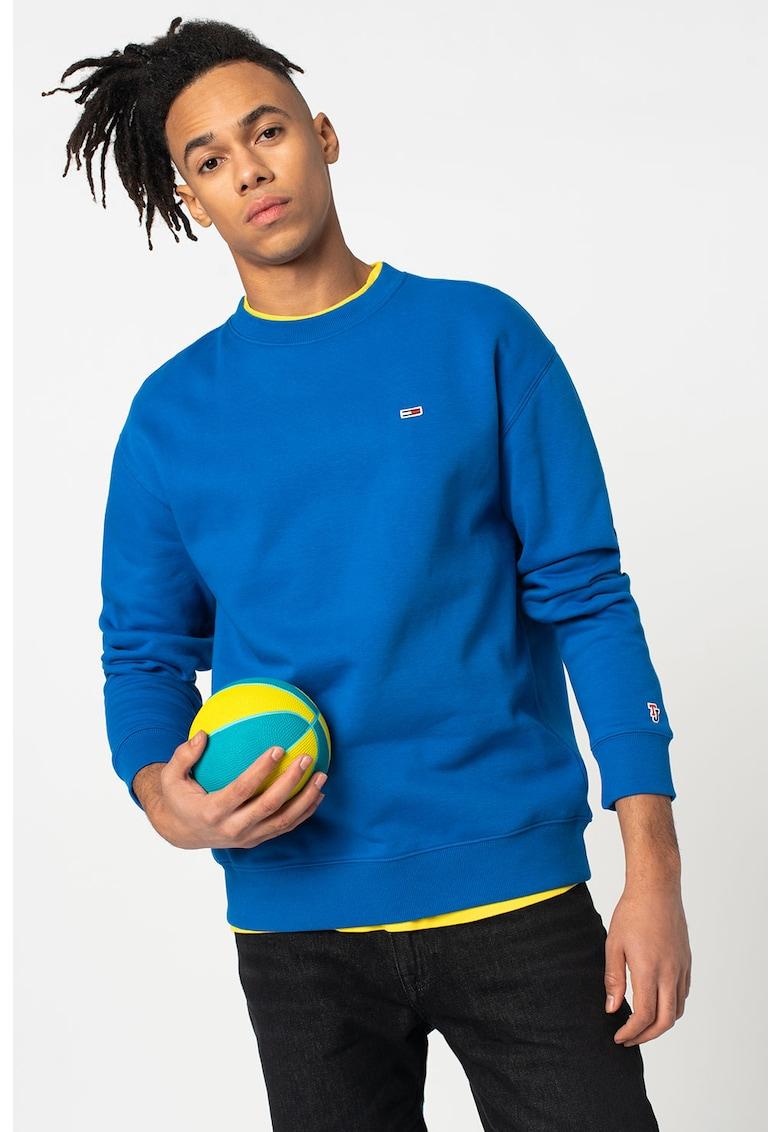 Bluza sport din amestec de bumbac organic de la Tommy Jeans
