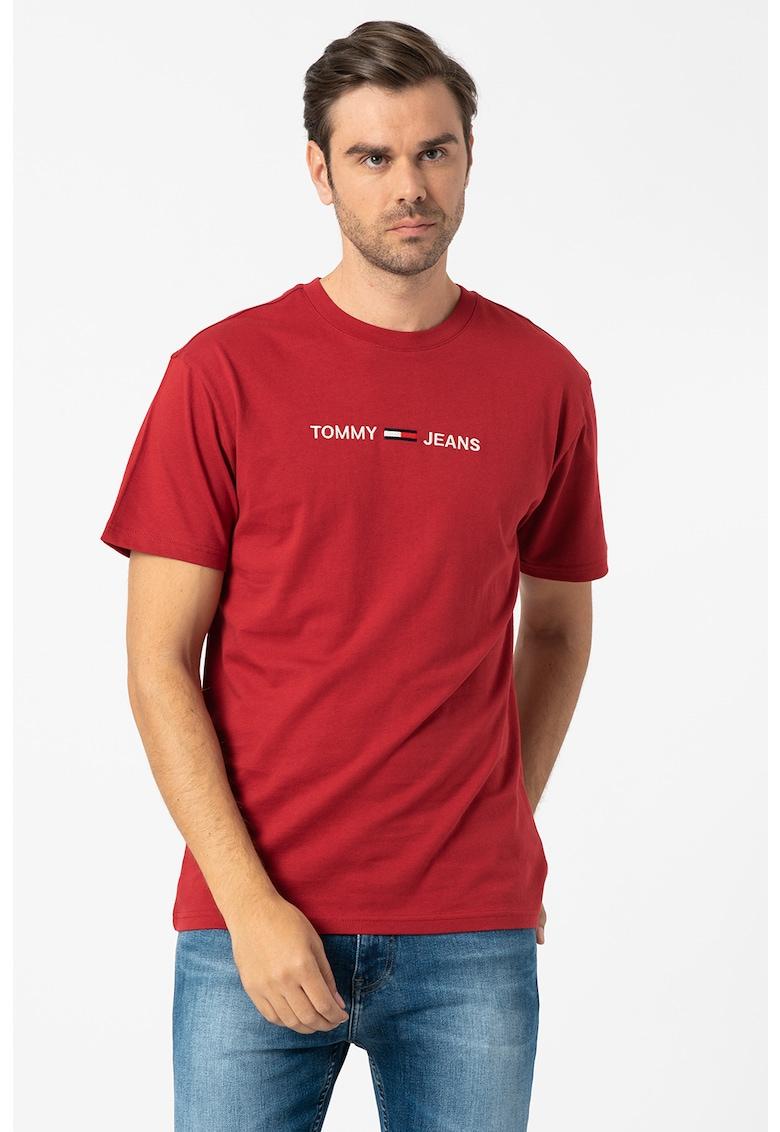 Tricou din bumbac organic cu logo imagine