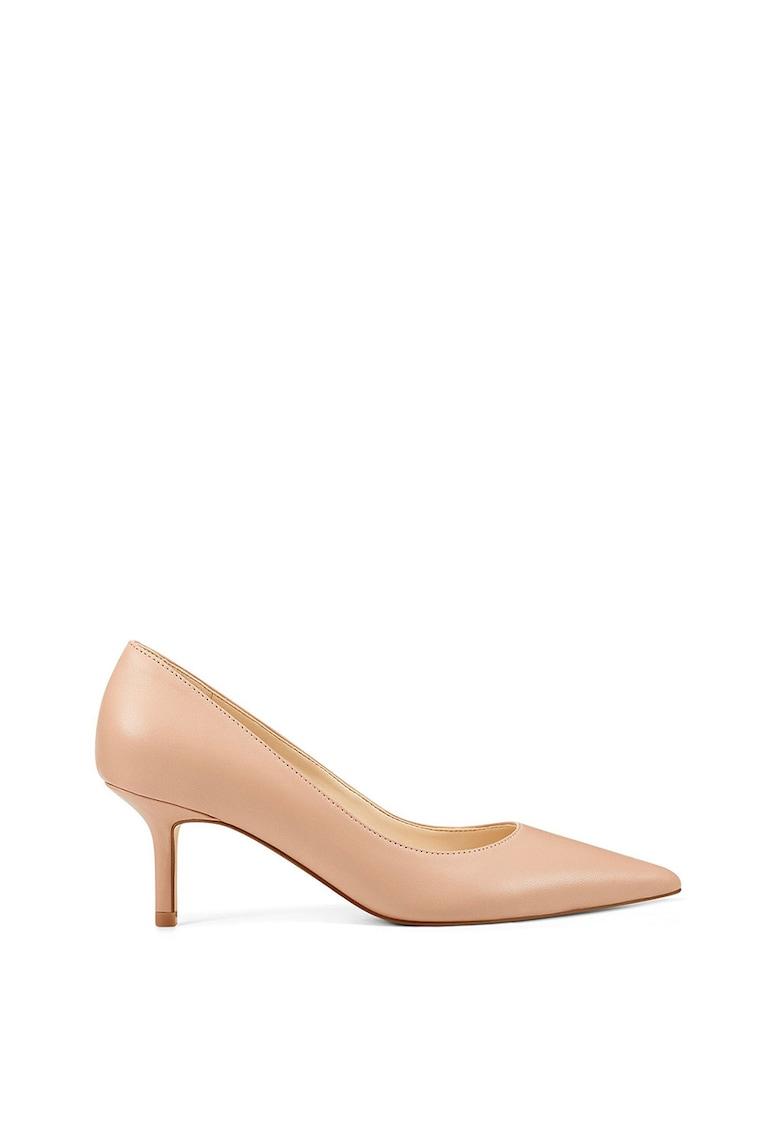 Pantofi de piele cu varf ascutit Arlene de la NINE WEST
