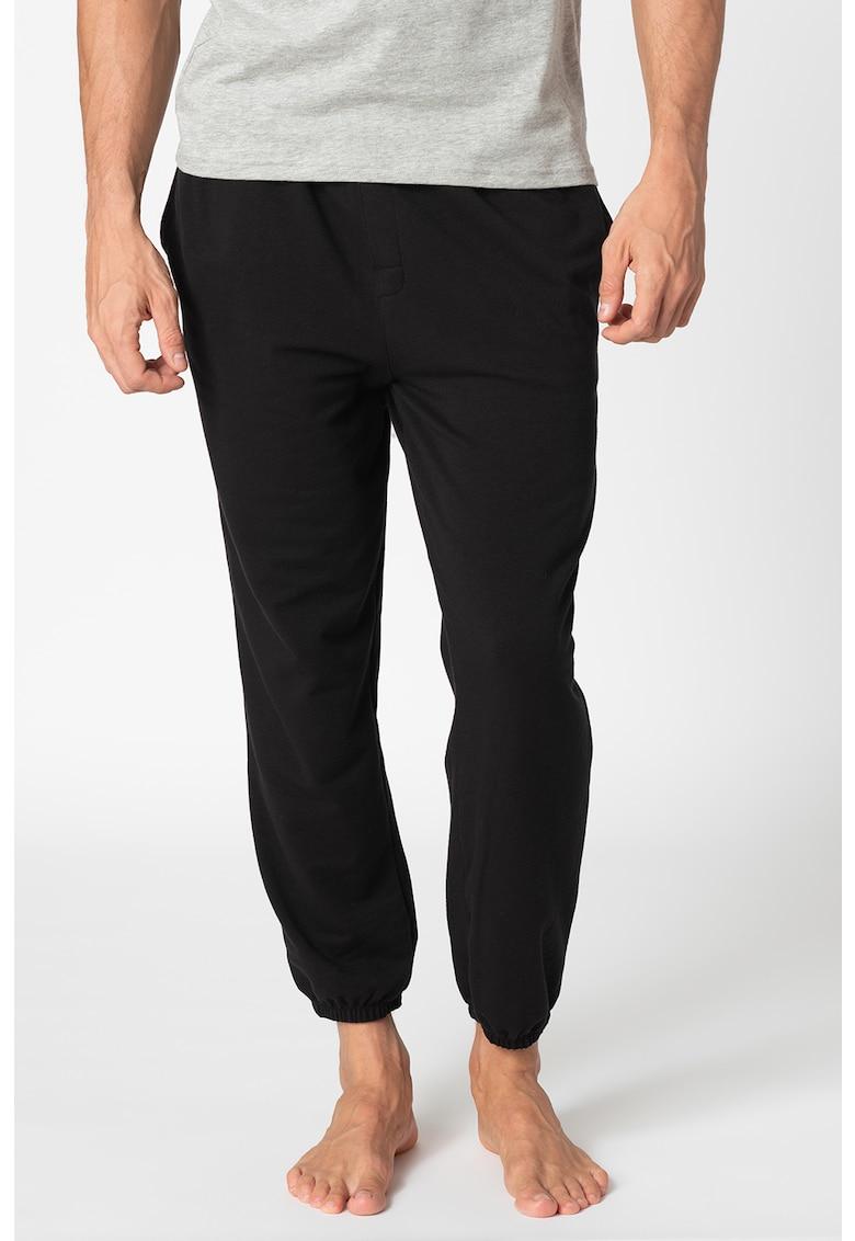 Pantaloni de pijama cu banda logo in talie imagine fashiondays.ro 2021