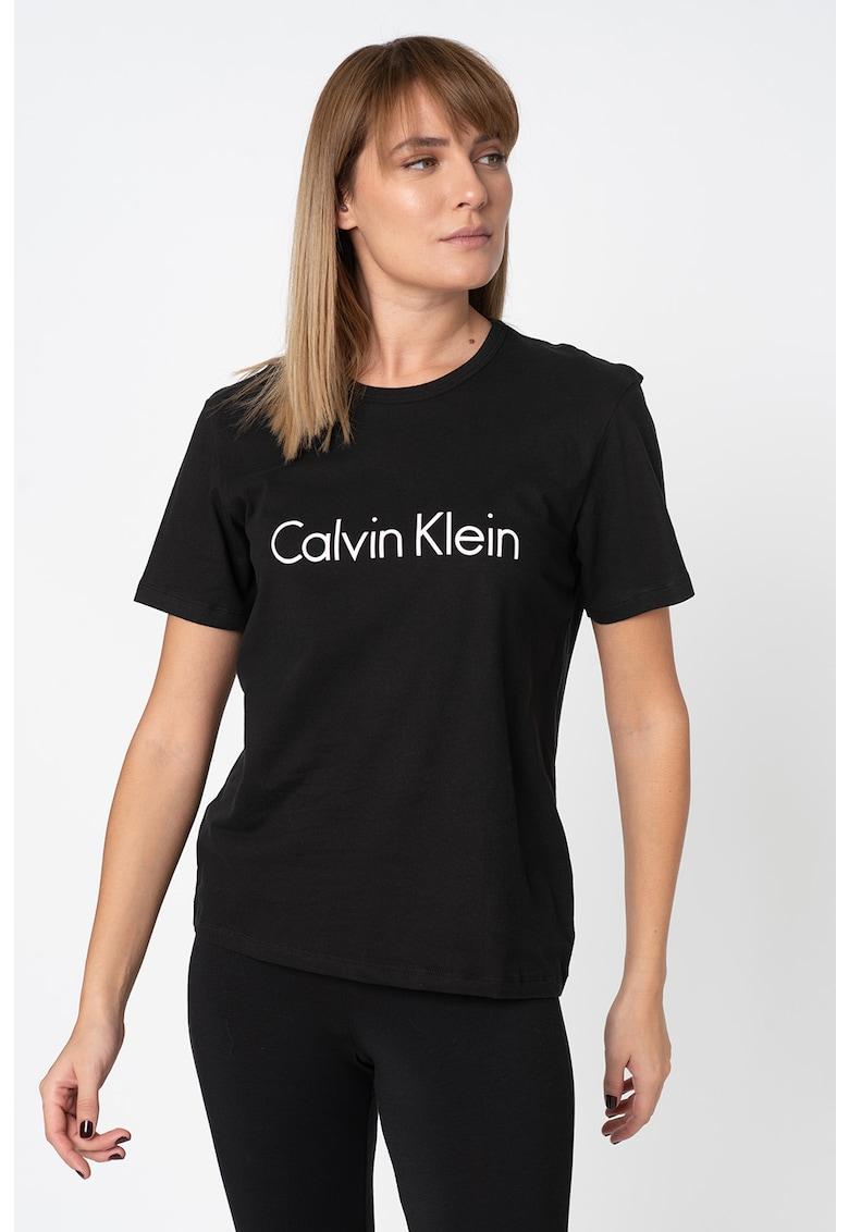 CALVIN KLEIN Tricou de casa cu imprimeu logo