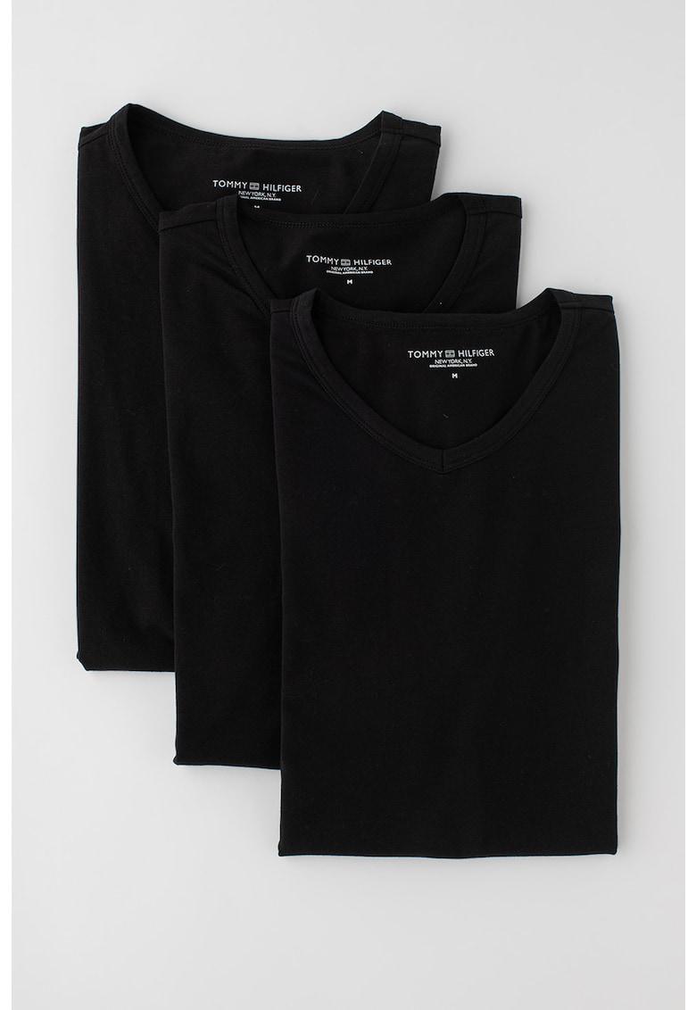 Set de tricouri slim fit de casa - 3 piese imagine fashiondays.ro