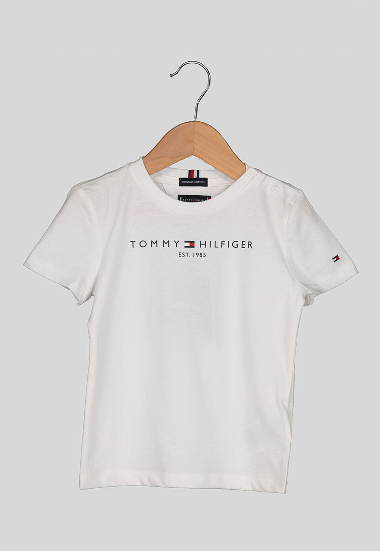 Tricou de bumbac organic cu imprimeu logo ' imagine fashiondays.ro
