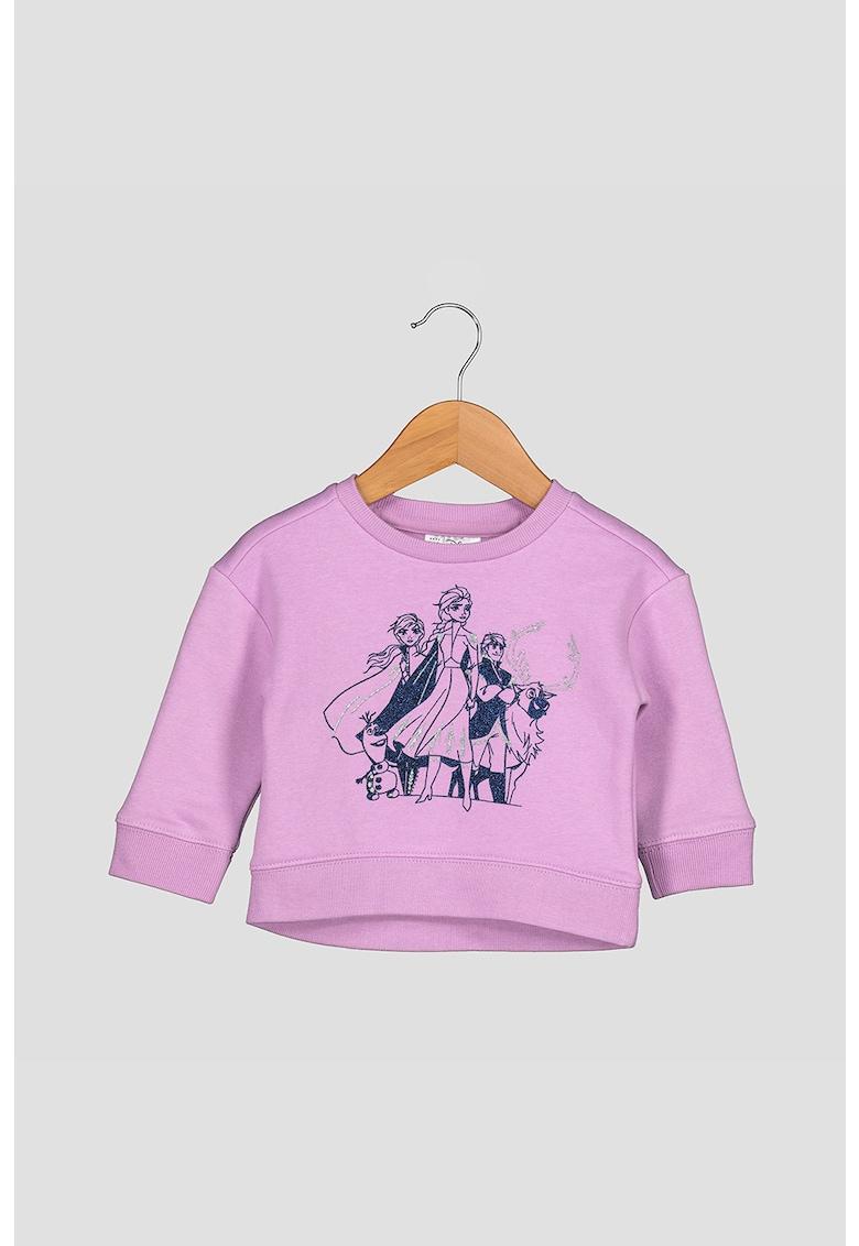Bluza sport cu imprimeu Frozen