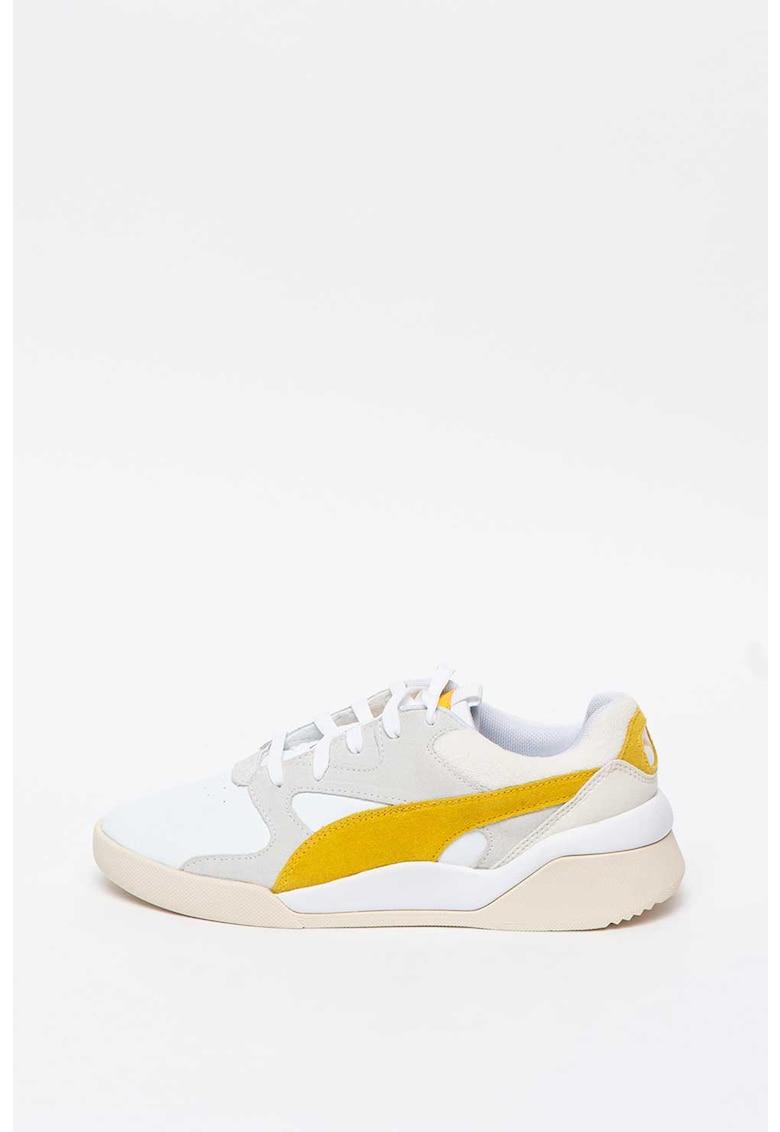 Pantofi sport cu garnituri de piele intoarsa Aeone Heritage