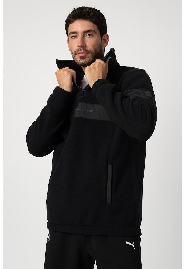 Bluza din fleece cu fermoar scurt Bmv Motorsport imagine