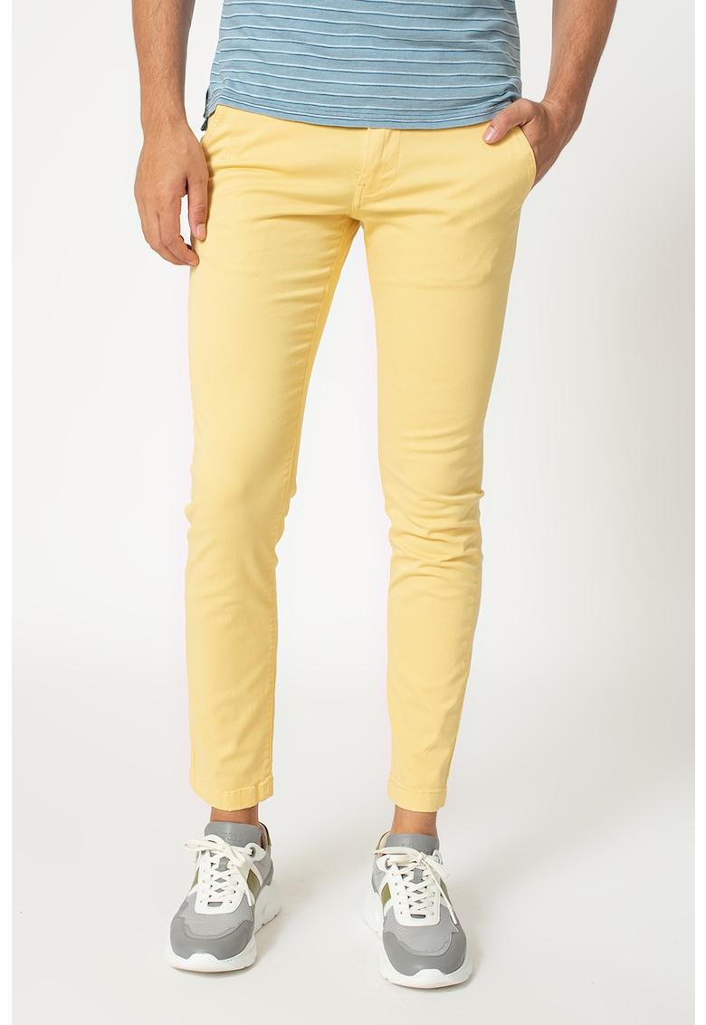 Pantaloni chino slim fit Charly