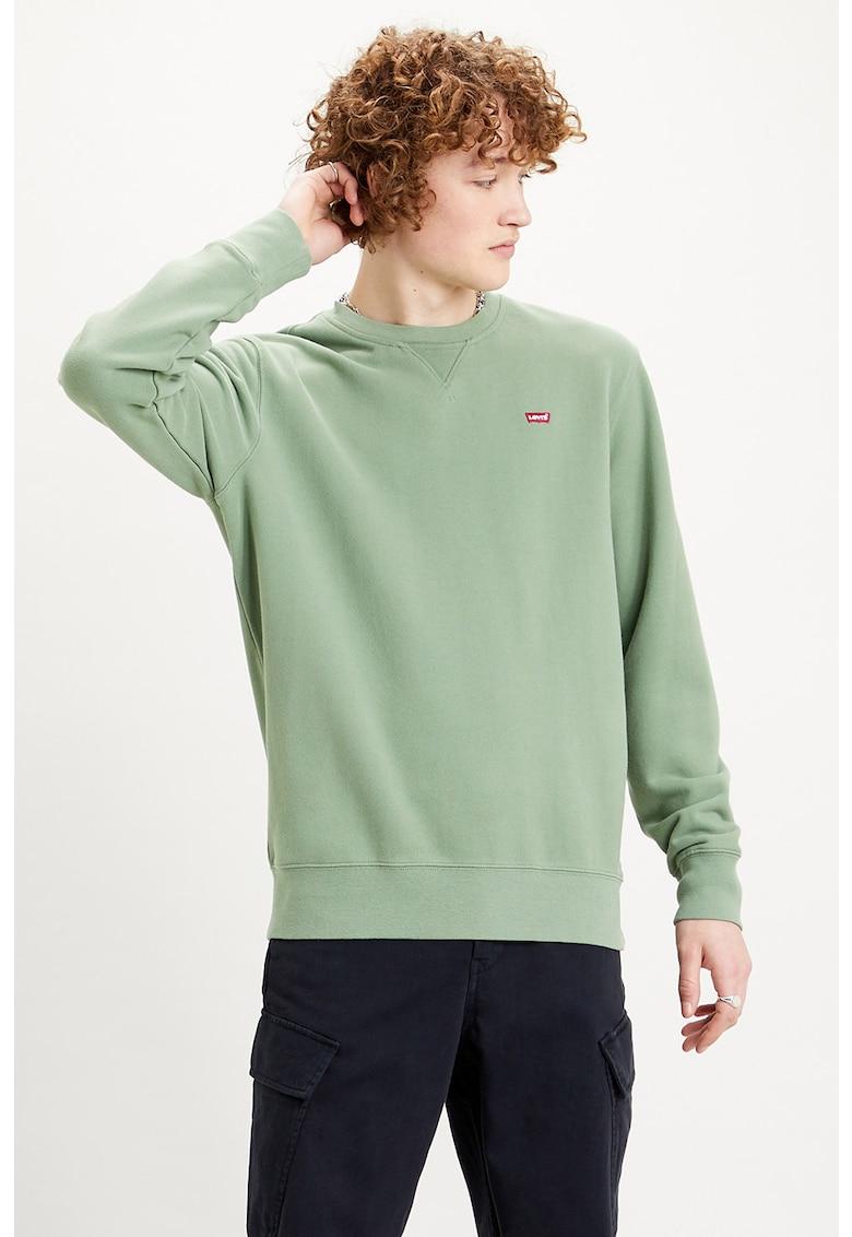 Bluza sport cu logo brodat New Original imagine
