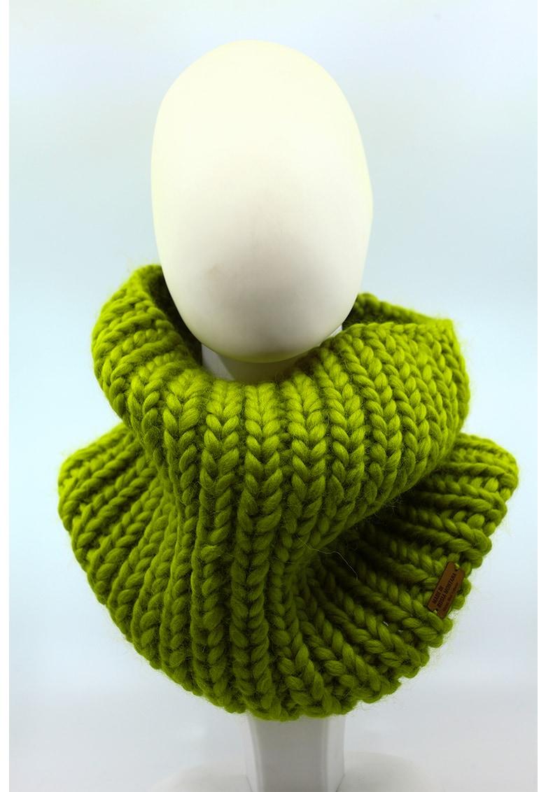 Fular circular de lana merino Live Simply de la Made in Rosia Montana