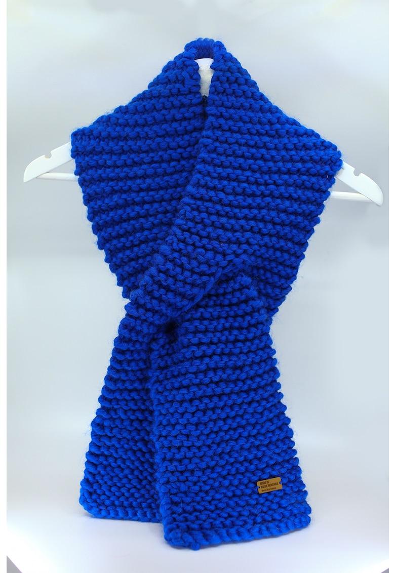 Fular circular de lana merino - tricotat gros Be Kind de la Made in Rosia Montana