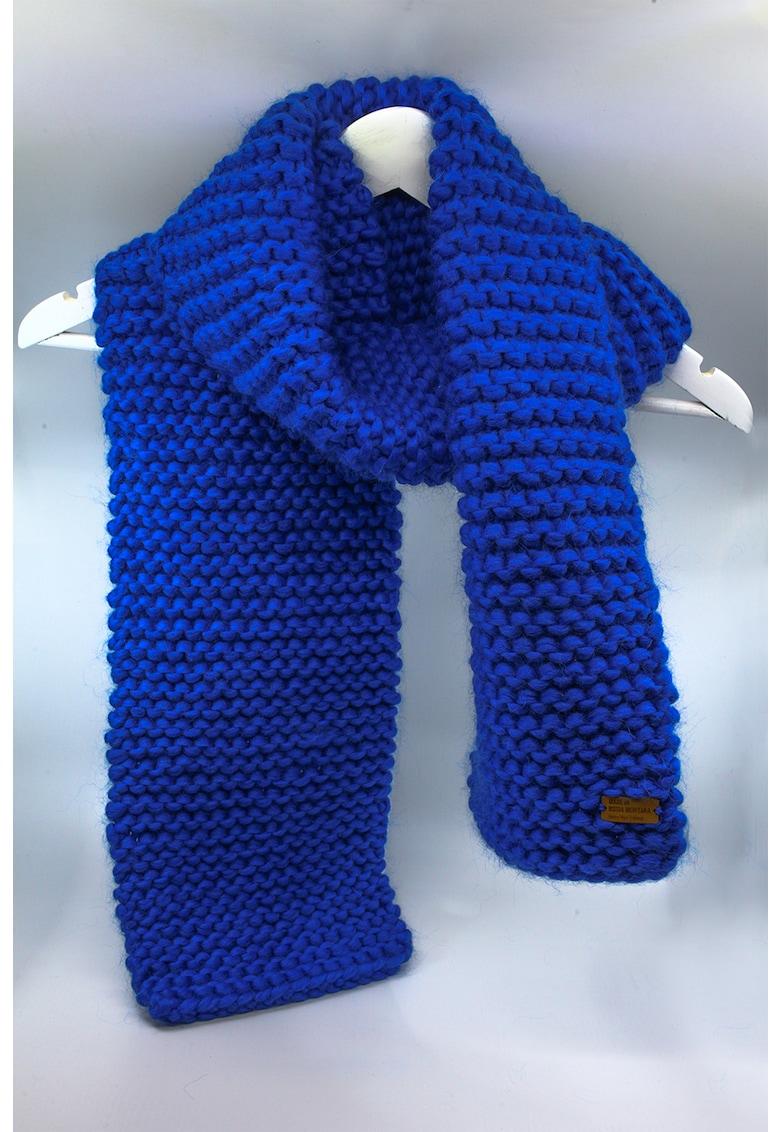 Made in Rosia Montana Fular de lana merino - tricotat gros Be Free