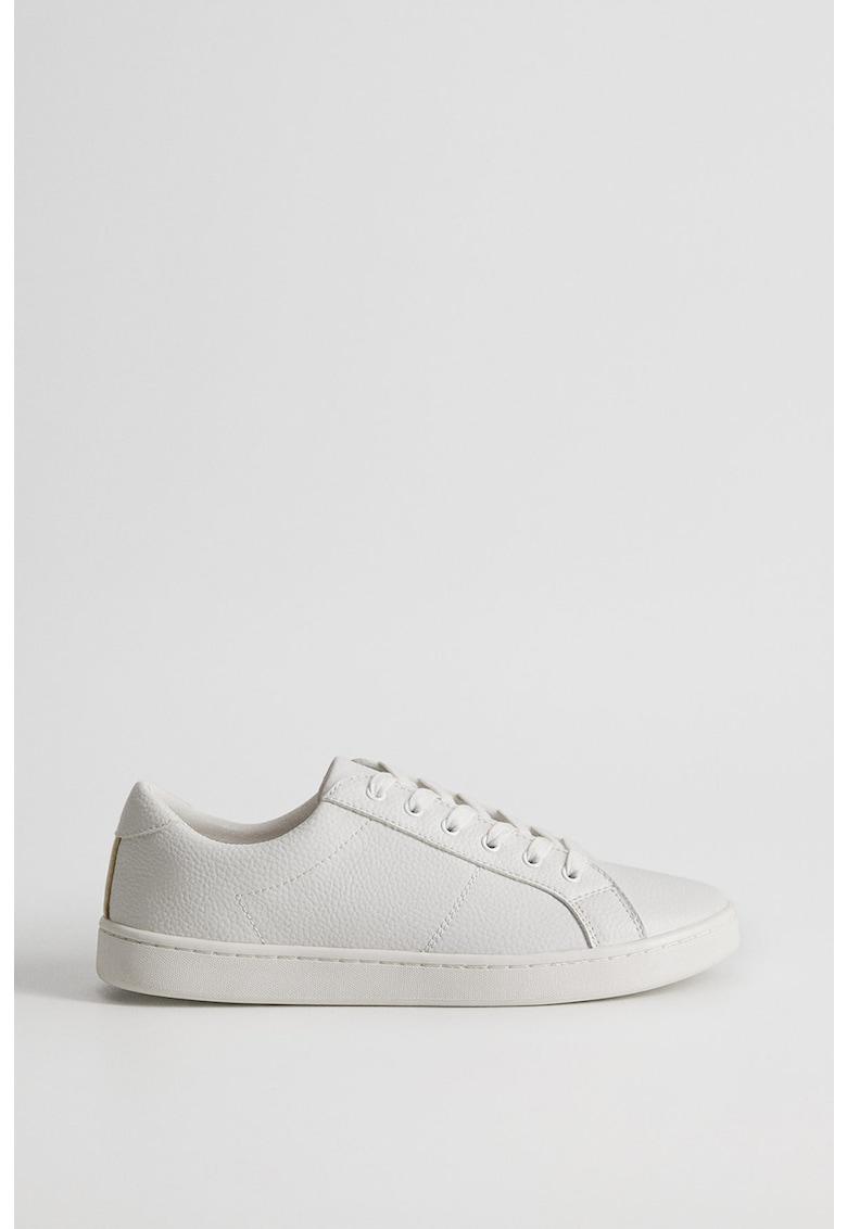 Pantofi sport cu insertii de piele Blanca