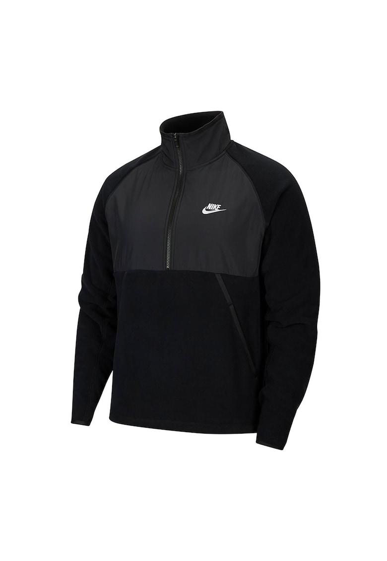 Bluza sport cu fermoar scurt Sportswear imagine