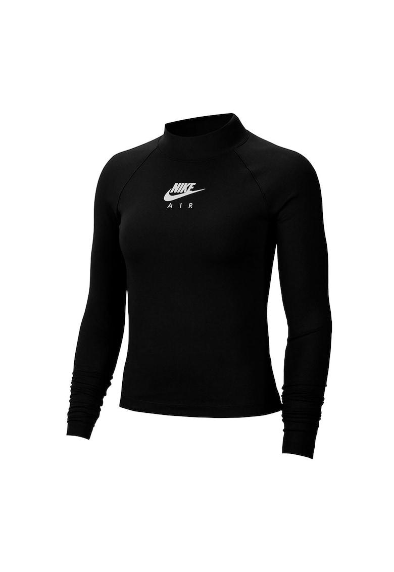 Bluza sport cu logo si maneci raglan Air
